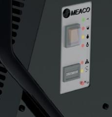 Dezumidificatorul Meaco 38L Platinum Range pentru uscare cladiri